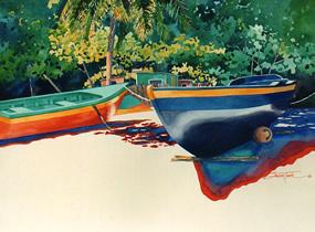 Fishing Boats Mayreau