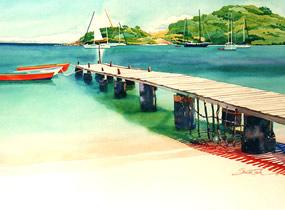 Saltwhistle Bay Mayreau